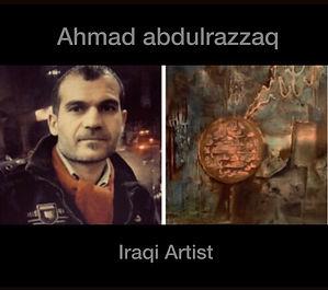 Ahmad abdulrazzaq, Iraqi Artist.JPG