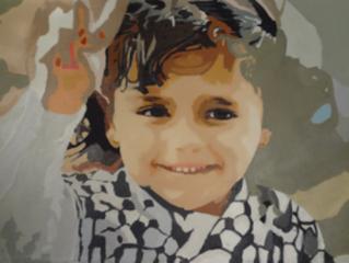 Israeli Barbarism, American Shame, Gazan Art