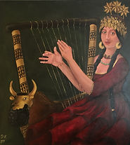 Iraqi Mona Lisa, Shubad Queen Nour.JPG