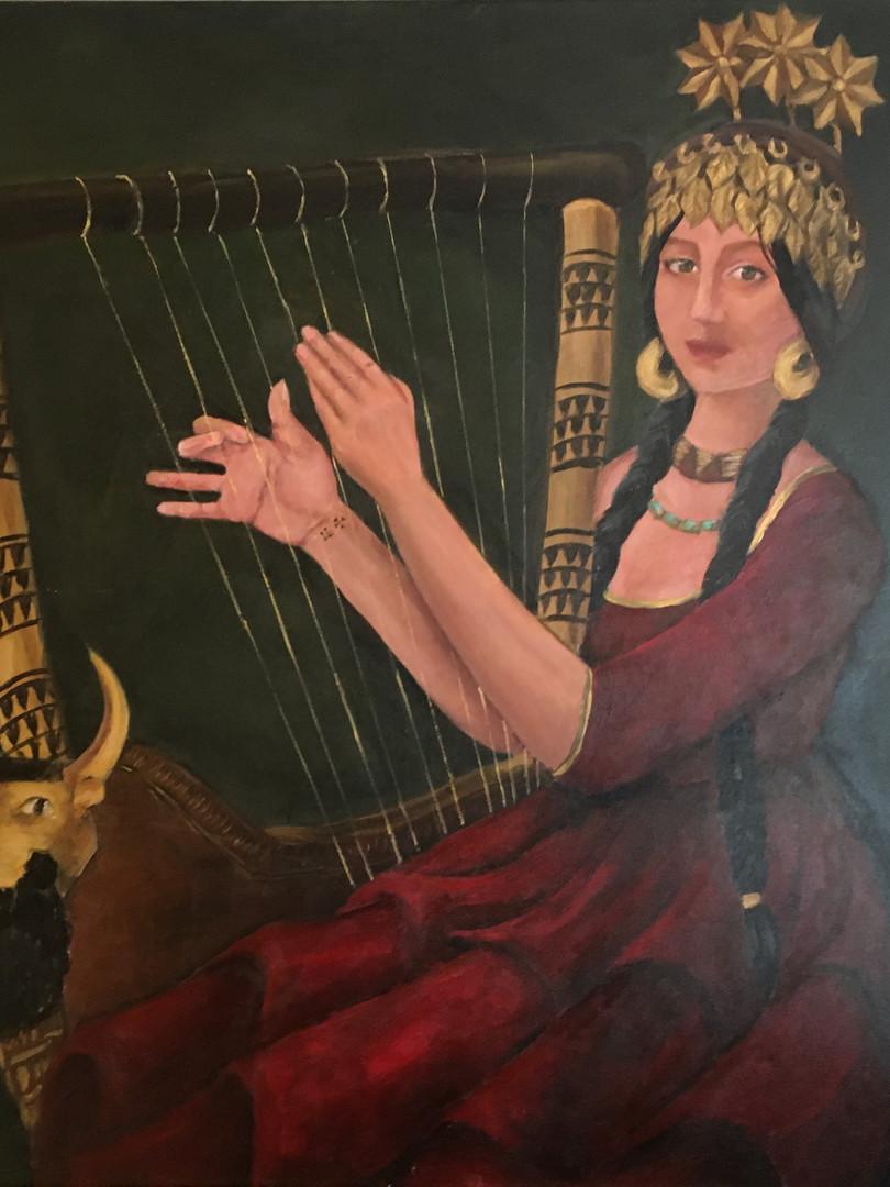 Iraqi Mona Lisa, Shubad Queen Nour