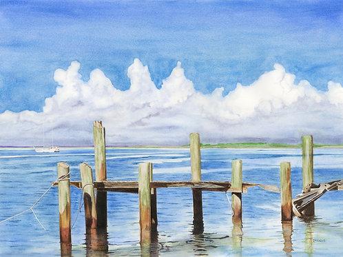 Fernandina Beach, Florida Art Print