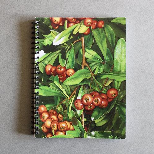 Pyracantha Spiral Journal/Notebook