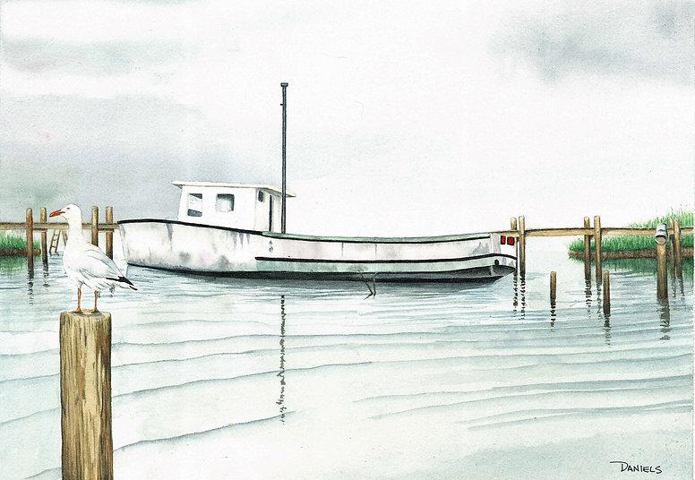 Boat at Chincoteague