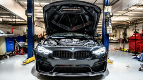 2019 BMW M3 CS gets track day prep...