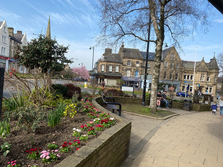 Spring has come to Ilkley!