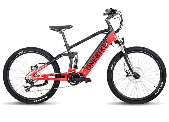 Dual Suspension E - Mountain Bike