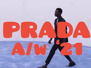 Prada Men's A/W '21 Juxtaposition Mirrors That of Miuccia Prada and Raf Simons