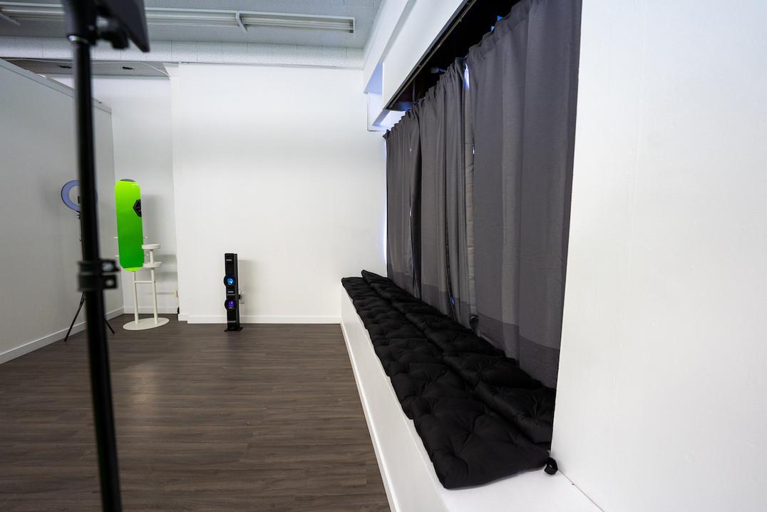 Sync Studios Window Wall Closed