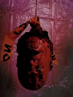 Hanging Head from Fear: Winnipeg Halloween Event
