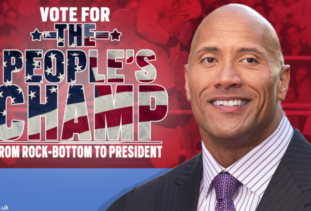 You Shouldn't Be Excited about The Rock Running in 2020