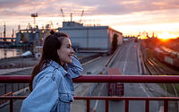 a-young-woman-on-the-bridge-photographed