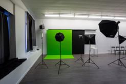 Sync Studios Wall and Lights