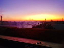 Sunset in Winnipeg