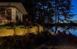 Nightscapes of Muskoka | Garden Bed Lighting