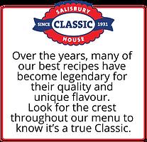 Salisbury Hose Classic Dishes