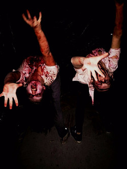 Zombies from Fear: Winnipeg Halloween Event