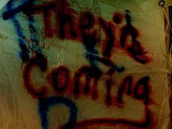 Graffiti Text from Fear: Winnipeg Halloween Event