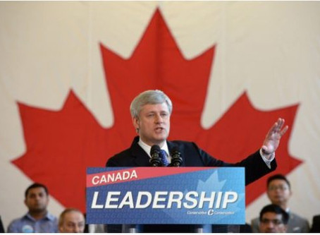 Dear Stephen Harper, I'm Done With You ...
