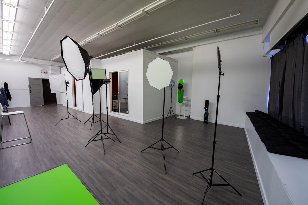 Sync Studios 3 Point Lighting