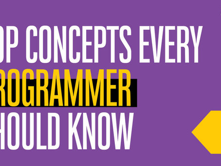 TOP Concepts Every Programmer Should Know