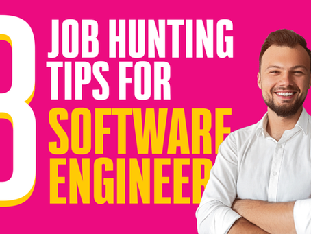 8 Job hunting tips for software engineers
