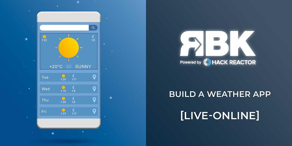 Build a weather app