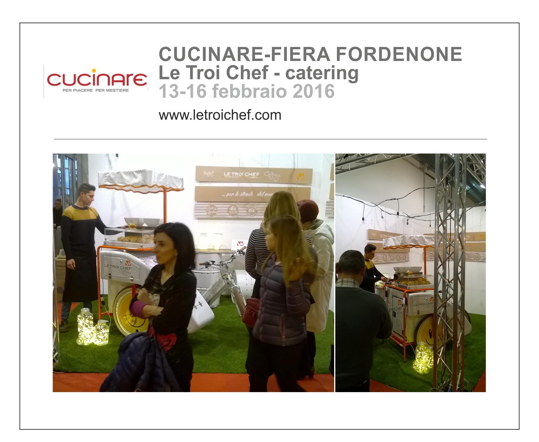 Cucinare - Le Troi Chef