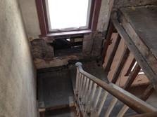 Belgravia before stairwell