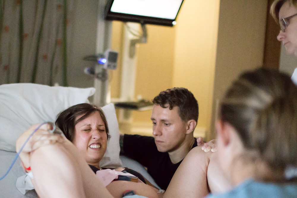 midwife atended birth at vcu