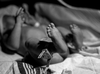 Birth Photography in RVA ~ A Gentle Cesarean Birth at Bon Secours St.Mary's