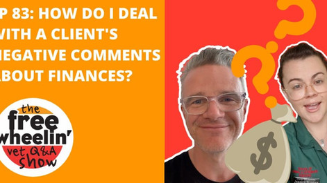 Freewheelin' Ep 83: How Do I Deal With a Client's Negative Comments About Finances?