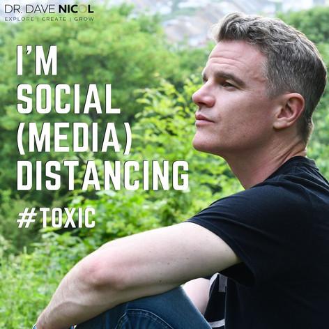 I'm Social (Media) Distancing.