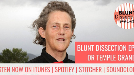 Blunt Dissection Ep 38: Dr Temple Grandin