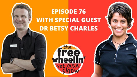 Freewheelin' Ep 76: Navigating Between the Good and Terrible With Dr Betsy Charles