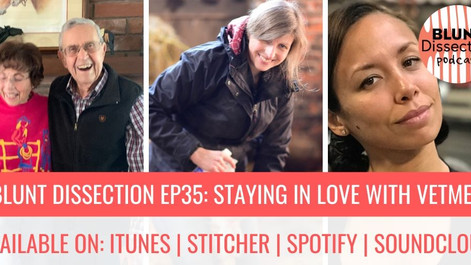 Blunt Dissection Ep 35: Falling Back In Love - With Our Profession & Ourselves