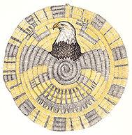 200croppedHopi Plaque Bald Eagle Bio of