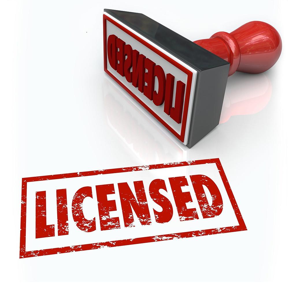 Hairstylist license