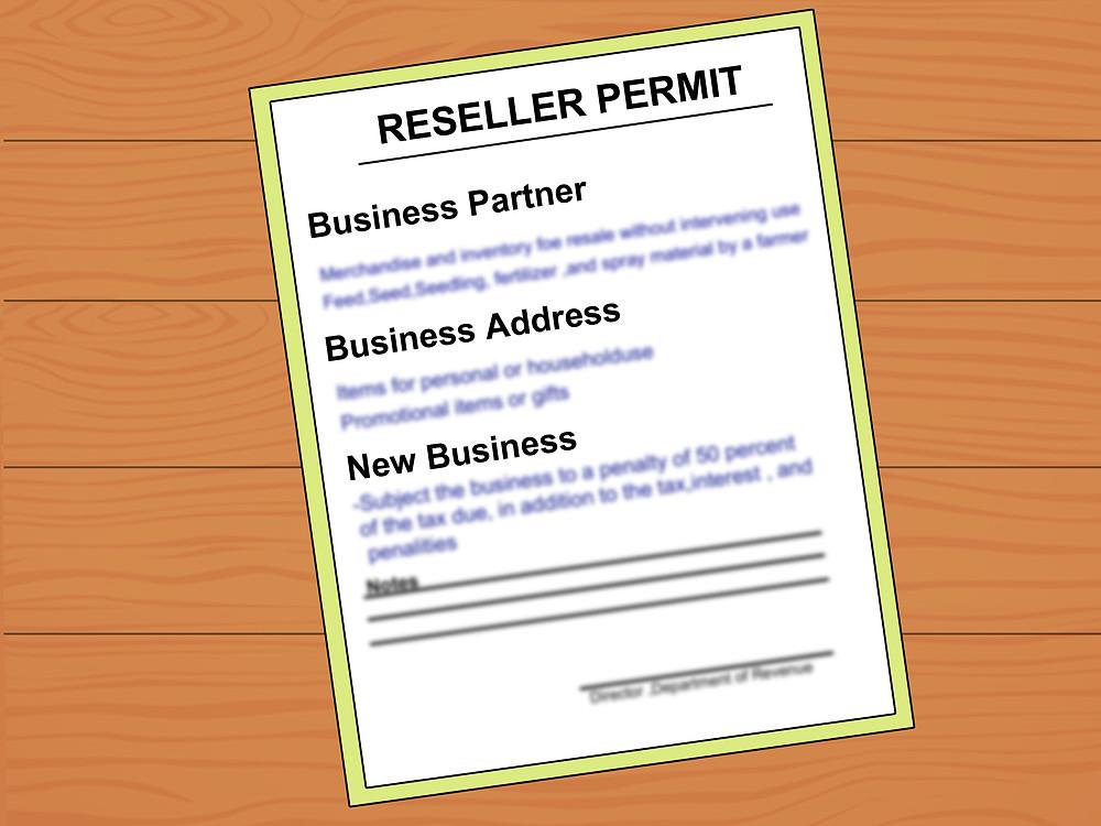 retail seller permit