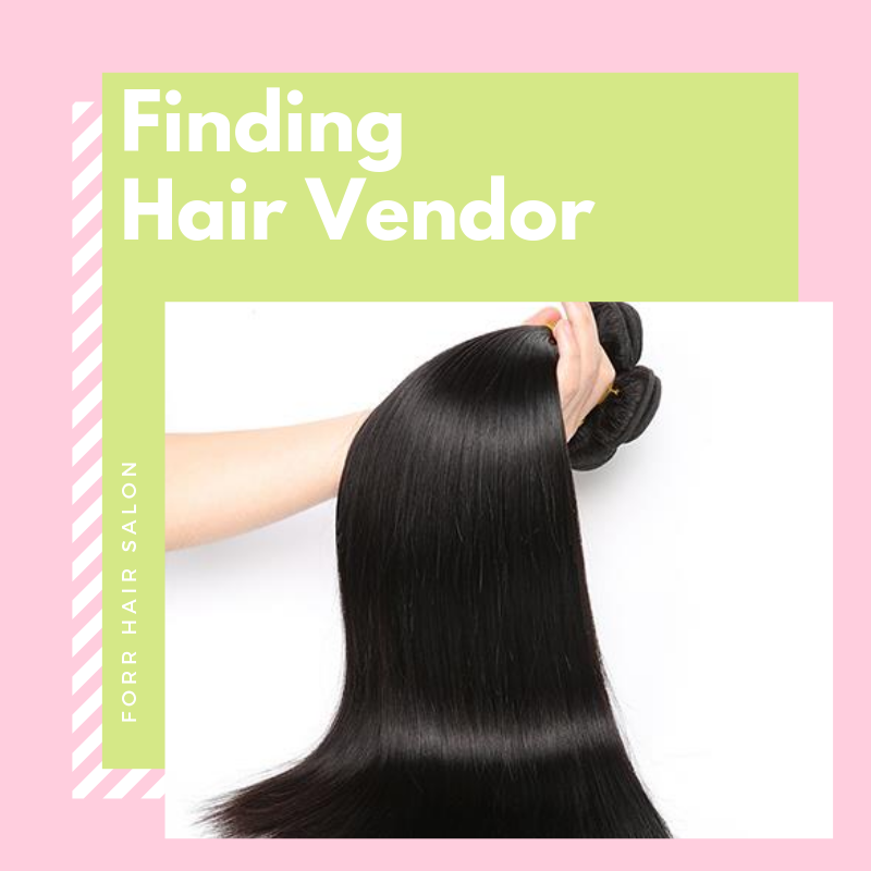 Finding hair vendor