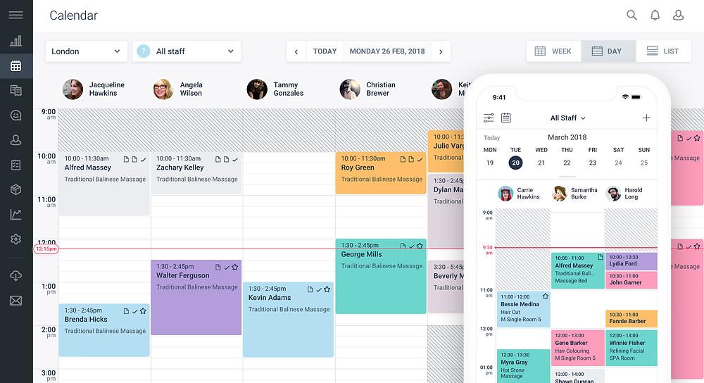 Schedul features