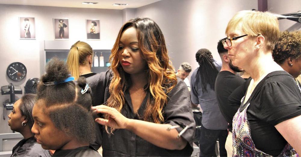 Hair salon workshop