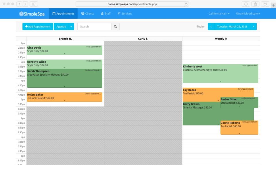 5 best spa scheduling software
