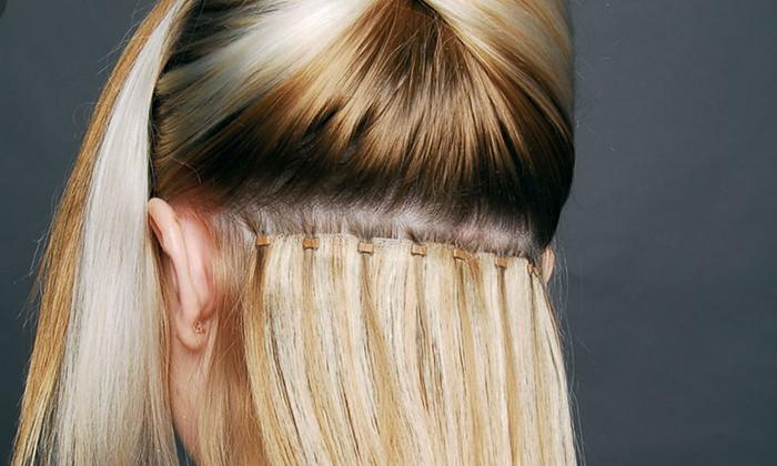 Hair extension making