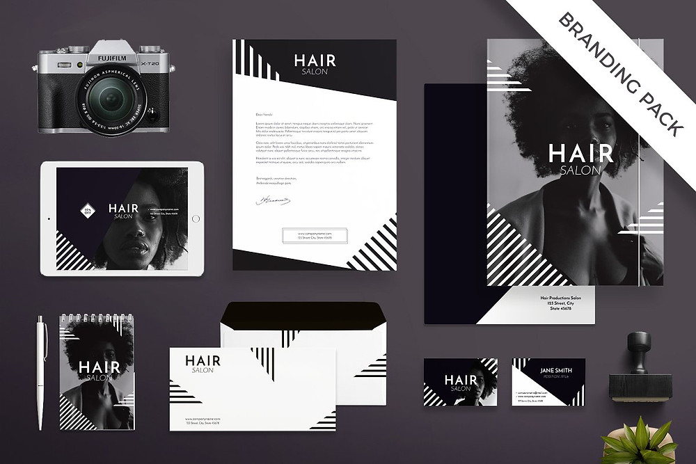 Brand hair salon