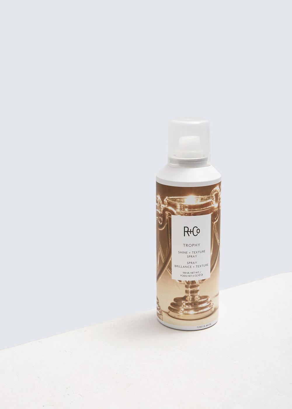R + Co Trophy Shine + Texture Spray