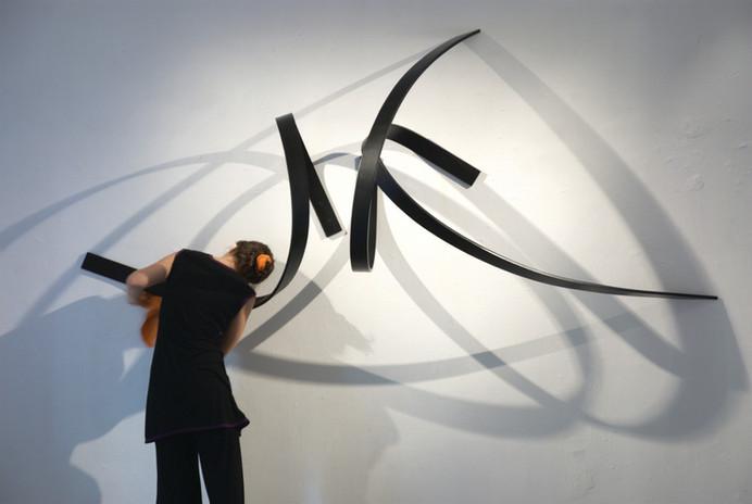 Dibujo en el muro