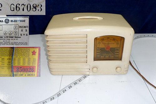 General Electric Radio Model L C P 596 Works
