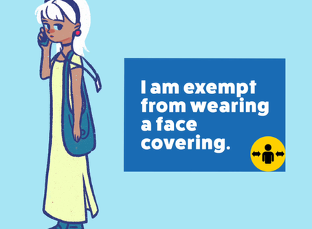 Mask wearing: who is exempt?