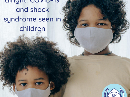The kids aren't alright: COVID-19 and shock syndrome seen in children