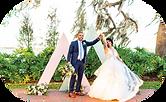 triangle wedding arches North Carolina